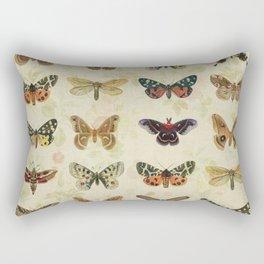 Moths & Butterflies Rectangular Pillow