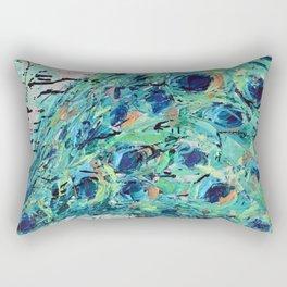 Shake your Tail Feather Rectangular Pillow