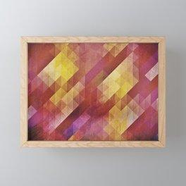 Fall pattern 2 Framed Mini Art Print