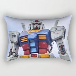 Gundam Stare Rectangular Pillow