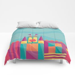 It's a small world after all | Disney inspired Comforters
