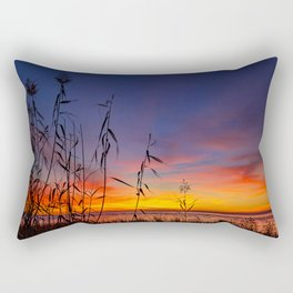 End of Day Colors Rectangular Pillow