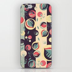 50's floral pattern II iPhone & iPod Skin