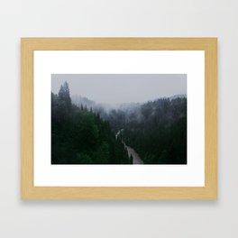 Bavarian Fog Framed Art Print