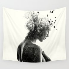 Nature Girl Wall Tapestry