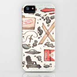 Collection of Ex Files iPhone Case