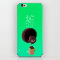 Black Woman iPhone & iPod Skin