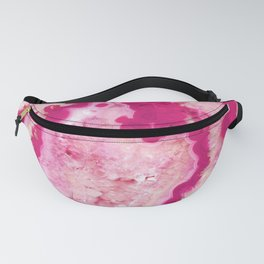 Pink Cherry Agate #1 #gem #decor #art #society6 Fanny Pack