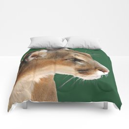 Panther Profile Comforters