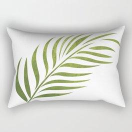 Palm Sunday Leaf Rectangular Pillow
