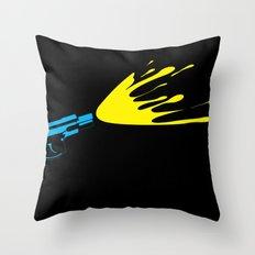 CMYKill Throw Pillow