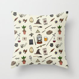 Harry Pattern Throw Pillow