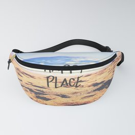 Happy Place Beach Fanny Pack