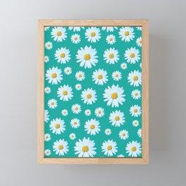 Dozens of Daisies Framed Mini Art Print