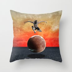 Modern Vintage Collection -- Infinity Throw Pillow