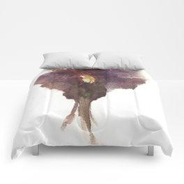 Devon's Vulva Print No.2 Comforters
