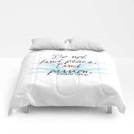 Do not find peace, find passion | Mara Dyer by Michelle Hodgkin Comforters