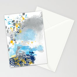 a room with view from asteroid B 612 _ the little prince Stationery Cards