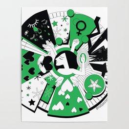 feminist deity Poster