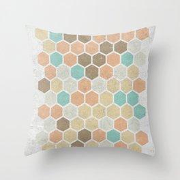 Geometric Maze Throw Pillow