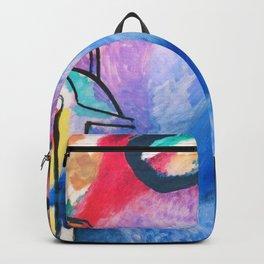 Wassily Kandinsky - Improvisation 19 - Digital Remastered Edition Backpack