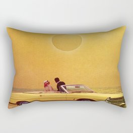Yellow Fever View Rectangular Pillow