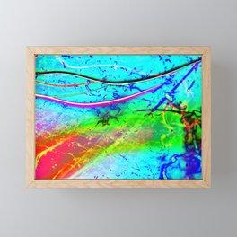 Color Tasting 2 - Light Painting Experiment Framed Mini Art Print