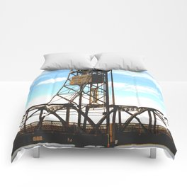 Stillwater Draw Bridge Comforters