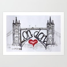 London with love Art Print