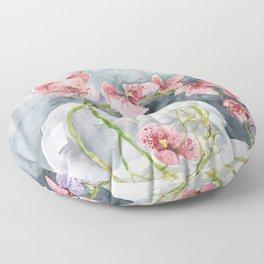 Orchid #5 Floor Pillow