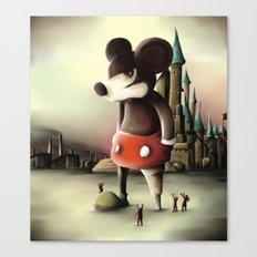 Mickey's Kingdom Canvas Print