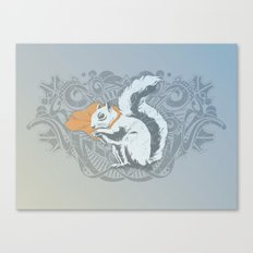 Fearless Creature: Chippy Canvas Print