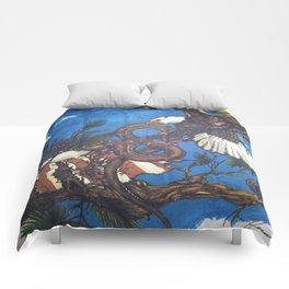 Eagle Vs. Snake Comforters