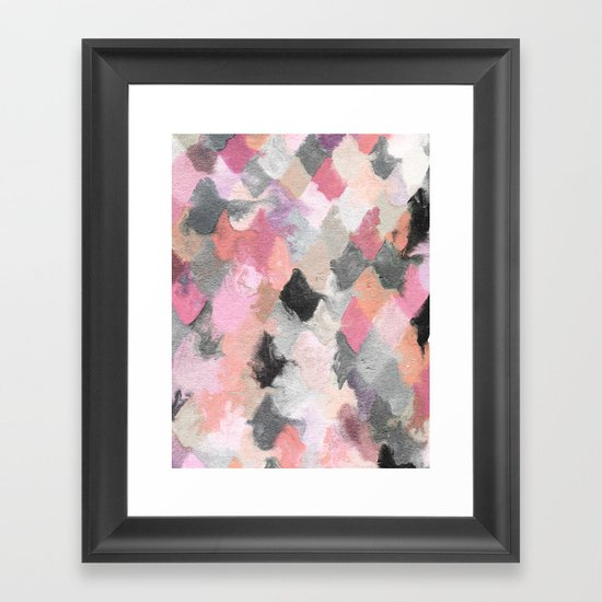 Summer Pastels Framed Art Print