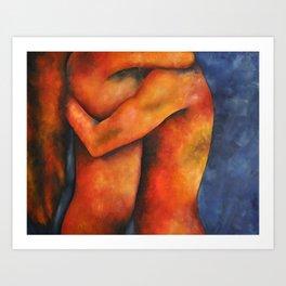 Embrace Art Print