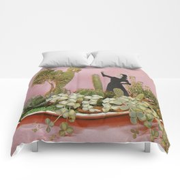 The Wonders of Cactus Island Comforters