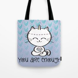 Lily Unicorn Kitty Tote Bag