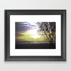 Sunset of Our Minds Framed Art Print