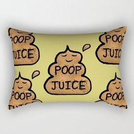 Poop Juice Rectangular Pillow