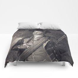 Vintage George Washington Portrait Comforters