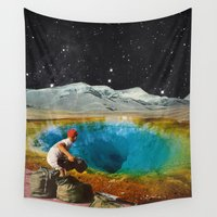 history Wall Tapestries featuring CLEAR HISTORY by Beth Hoeckel