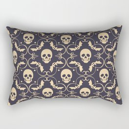 Happy halloween skull pattern Rectangular Pillow
