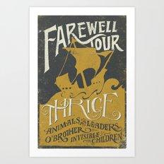 Thrice Farewell Tour Alternate (Limited) Art Print