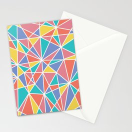 Colorful Chaos Stationery Cards
