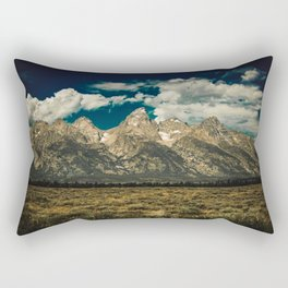 Mountain Summer Escape Rectangular Pillow