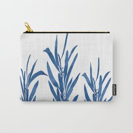 Eucalyptus Branches Blue Carry-All Pouch