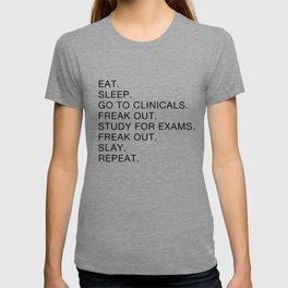 Clinical, Nursing Student, Med Student T-shirt