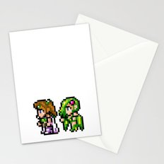Final Fantasy II - Rosa and Rydia Stationery Cards