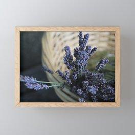 Farmers' Market Lavendar Framed Mini Art Print