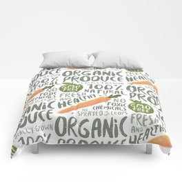 Organic Produce Comforters